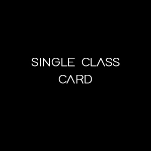 single class card